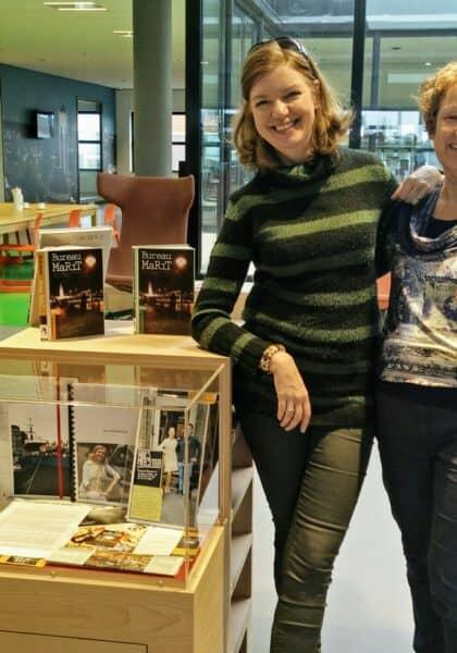 Anneke Grevink met Esther Vermeulen